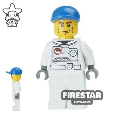 LEGO City Mini Figure - Spacesuit and Blue Cap