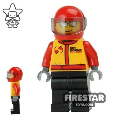 LEGO City Mini Figure - Stunt Pilot