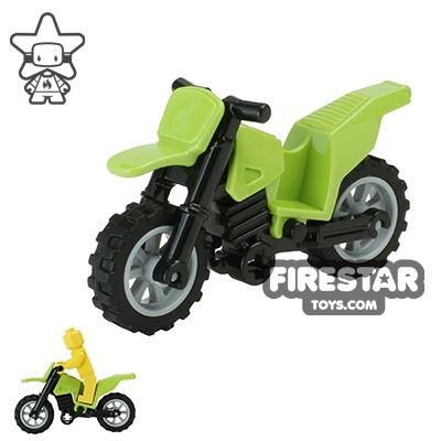 LEGO Dirt Bike Lime and Black