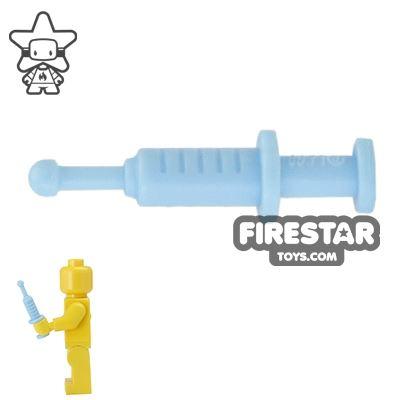 LEGO - Syringe - Bright Light Blue