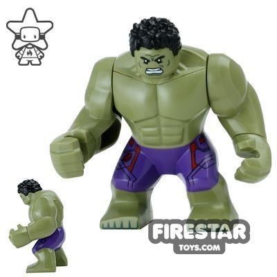 LEGO Super Heroes Minifigure Hulk Olive Green