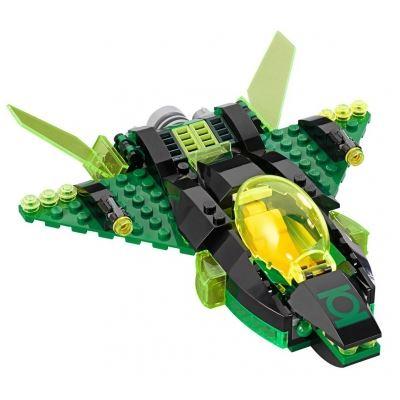 Custom Mini Set - Super Heroes - Green Lantern Spaceship