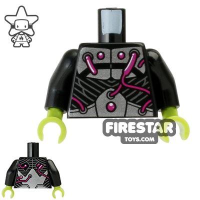 LEGO Mini Figure Torso - Brainiac
