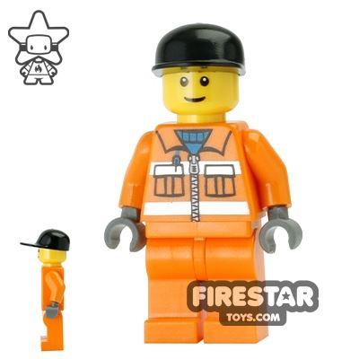 LEGO City Mini Figure - Sanitary Engineer 3