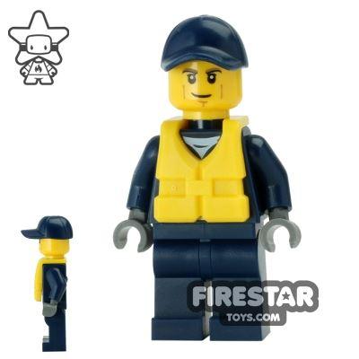 LEGO City Mini Figure - City Watercraft Police