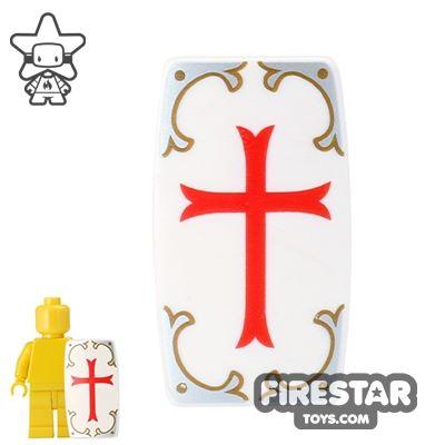 BrickForge - Military Shield - White Holy Judgement Print