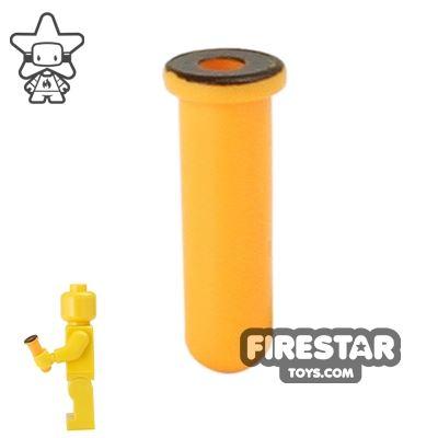 BrickForge - Test Tube - Orange with Black Rim