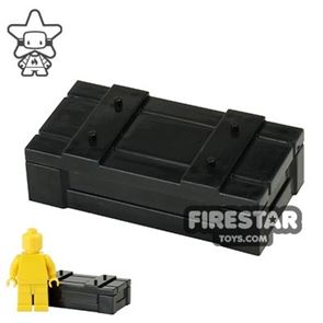 BrickForge - Weapons Crate - RIGGED System - Black