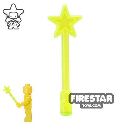 LEGO - Magic Star Wand - Trans Neon Green