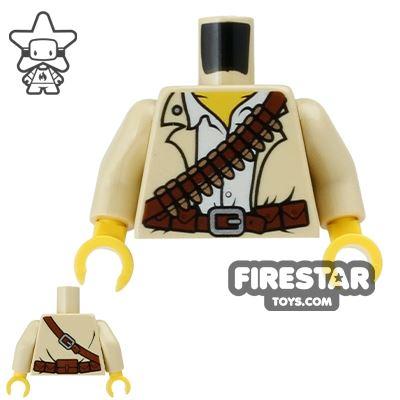 LEGO Mini Figure Torso - Adventurer Shirt