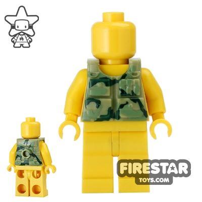 BrickForge - Tactical Vest - Olive Green Camo