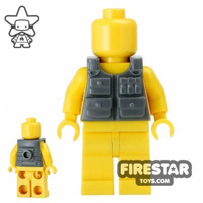 BrickForge - Tactical Vest - Dark Blueish Gray