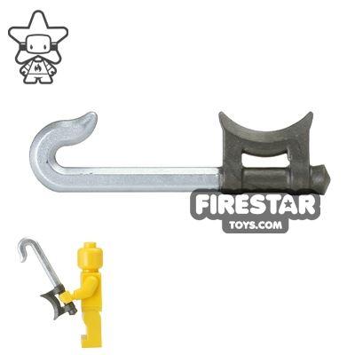 BrickForge - Hook Sword - Steel and Silver