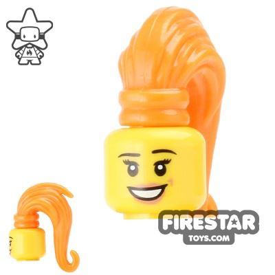 BrickForge Hair - Ponytail - Orange