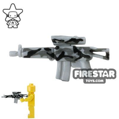 BrickForge - Tactical Assault Rifle - Silver Camo