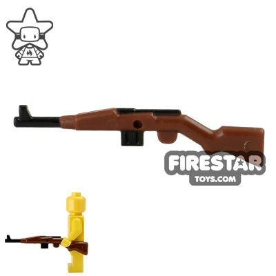 BrickForge - Gewehr 43 - RIGGED System - Reddish Brown and Black