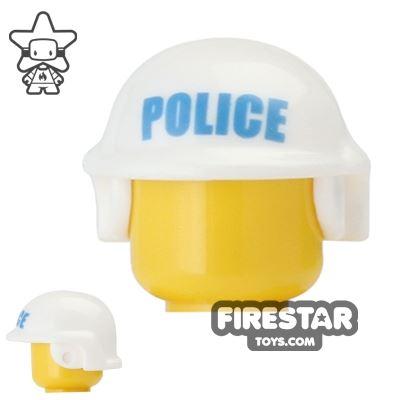 BrickForge Tactical Helmet with Police Print