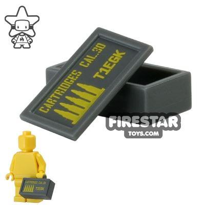 BrickForge - Ammo Case - .30 CAL - Dark Blueish Gray