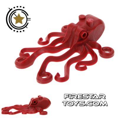 LEGO Animals Mini Figure - Dark Red Octopus