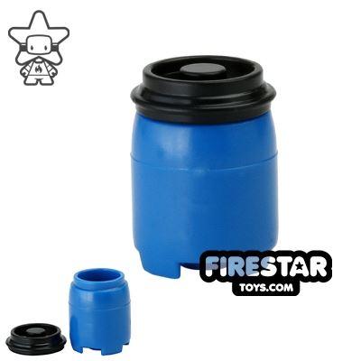 SI-DAN - BI120 Plastic Drum - Blue