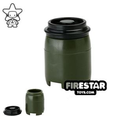 SI-DAN - BI120 Plastic Drum - Tank Green
