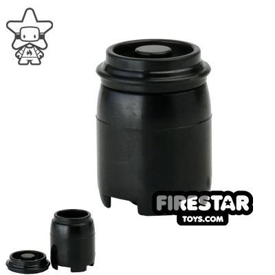 SI-DAN - BI120 Plastic Drum - Black