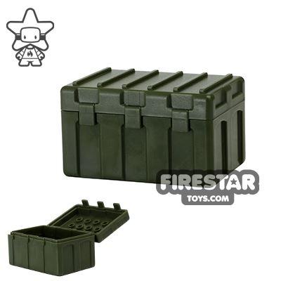 SI-DAN - Transportation Box TB415 - Tank Green
