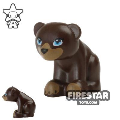 LEGO Animals Mini Figure - Bear - Dark Brown