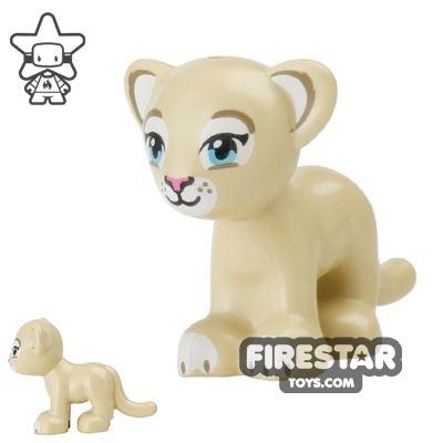 LEGO Animals Mini Figure - Lion Cub - Tan
