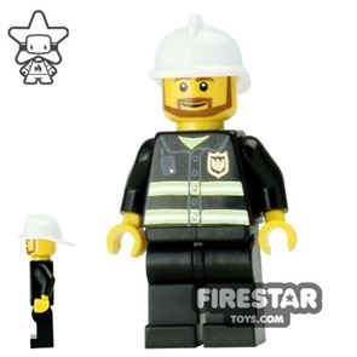LEGO City Mini Figure � Fireman with Beard