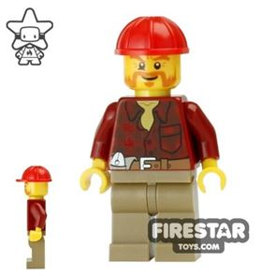 LEGO City Mini Figure - Lumberjack 3