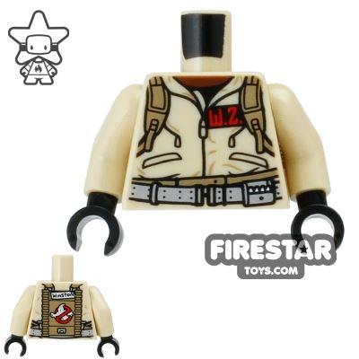 LEGO Mini Figure Torso - Ghostbusters Jumpsuit - Winston Zeddemore
