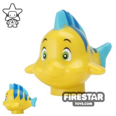 LEGO Animals Mini Figure - Yellow Fish - Flounder