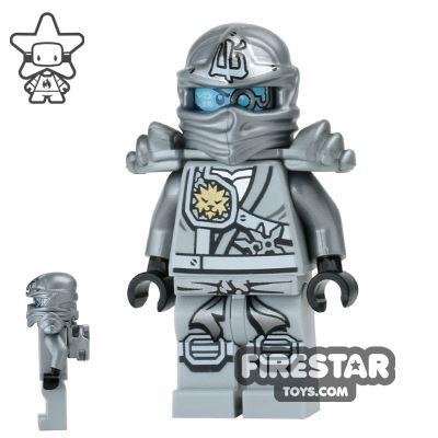 LEGO Ninjago Mini Figure - Zane - Titanium Ninja