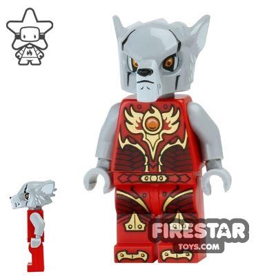 LEGO Legends of Chima Mini Figure - Worriz - Fire Chi