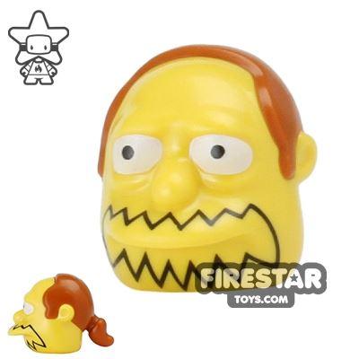 LEGO Mini Figure Heads - The Simpsons - Comic Book Guy