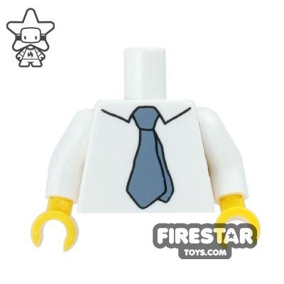 LEGO Mini Figure Torso - The Simpsons - Hans Moleman - Shirt and Tie