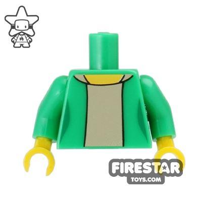 LEGO Mini Figure Torso - The Simpsons - Edna Krabappel