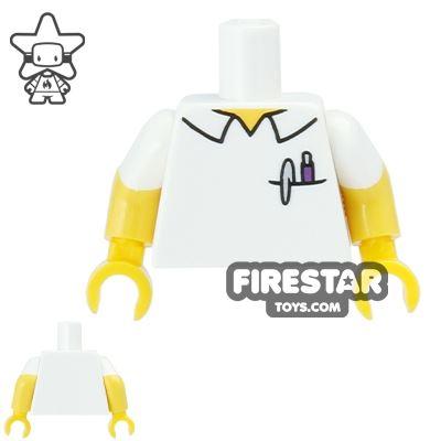 LEGO Mini Figure Torso - The Simpsons - Martin Prince
