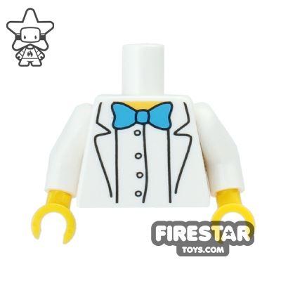 LEGO Mini Figure Torso - The Simpsons - Professor Frink - Bowtie