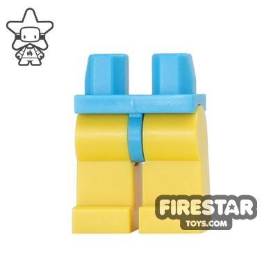 LEGO Minifigure Legs - Hips DARK AZURE - Legs