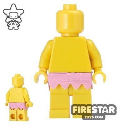 LEGO - Skirt - Short Fringe - Bright Pink