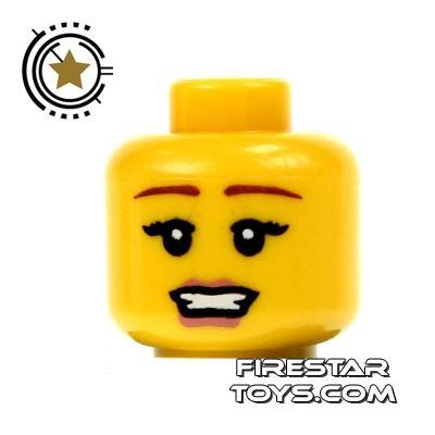 LEGO Mini Figure Heads - Glamorous