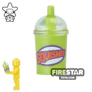 LEGO - Squishee Cup with Straw - Lime
