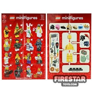 LEGO - Minifigures Series 7 Collectable Leaflet