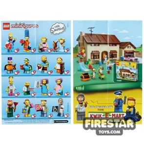 LEGO - The Simpsons Minifigures 2 Collectable Leaflet