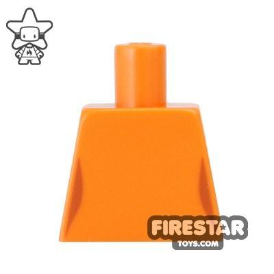 LEGO Mini Figure Torso - Orange Top (no arms)