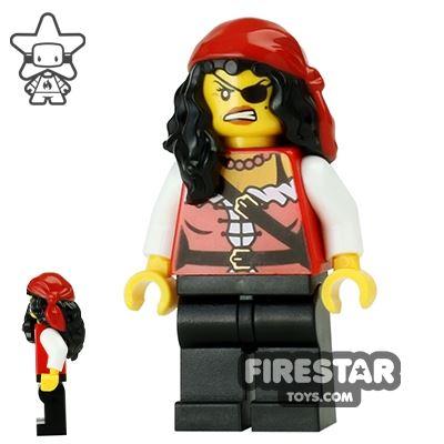 LEGO Pirate Mini Figure - Pirate Princess