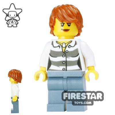 LEGO City Mini Figure - Swamp Police - Female Crook