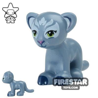 LEGO Animals Mini Figure - Lion Cub - Sand Blue
